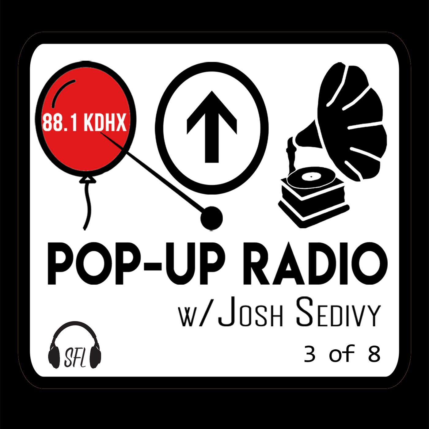 Pop-Up Radio on KDHX - 3